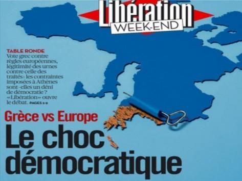Liberation: Βοηθήστε τον Τσίπρα αλλιώς θα έχετε να κάνετε με τη Χρυσή Αυγή!