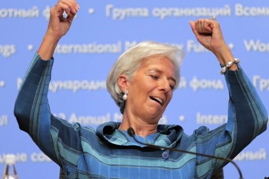 Λαγκάρντ: Έχω ένα καλό προαίσθημα για την Ελλάδα