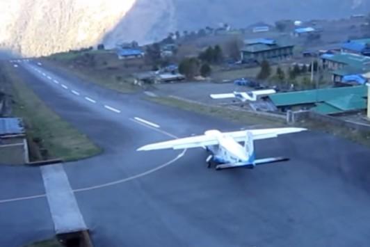 Αυτό είναι το πιο επικίνδυνο αεροδρόμιο στον κόσμο! (βίντεο)