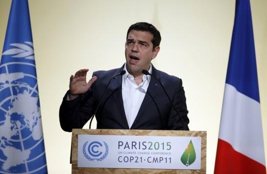 Η ομιλία του Αλέξη Τσίπρα για το κλίμα από το Παρίσι