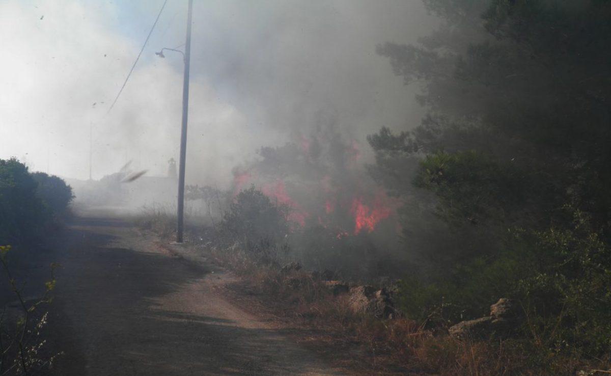 Κύθηρα Πυρκαγιές