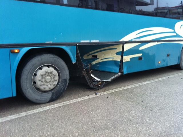 Λίγα λεπτά μετά το ατύχημα - ΦΩΤΟ από lamiareport.gr