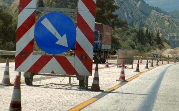 Διακοπή κυκλοφορίας στην εθνική οδό Θεσσαλονίκης - Αθηνών