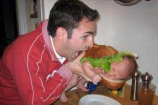 Το μωρό είναι μια μπουκιά