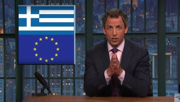 Αμερικανός κωμικός καλεί τους Γερμανούς να μειώσουν το χρέος της Ελλάδας!