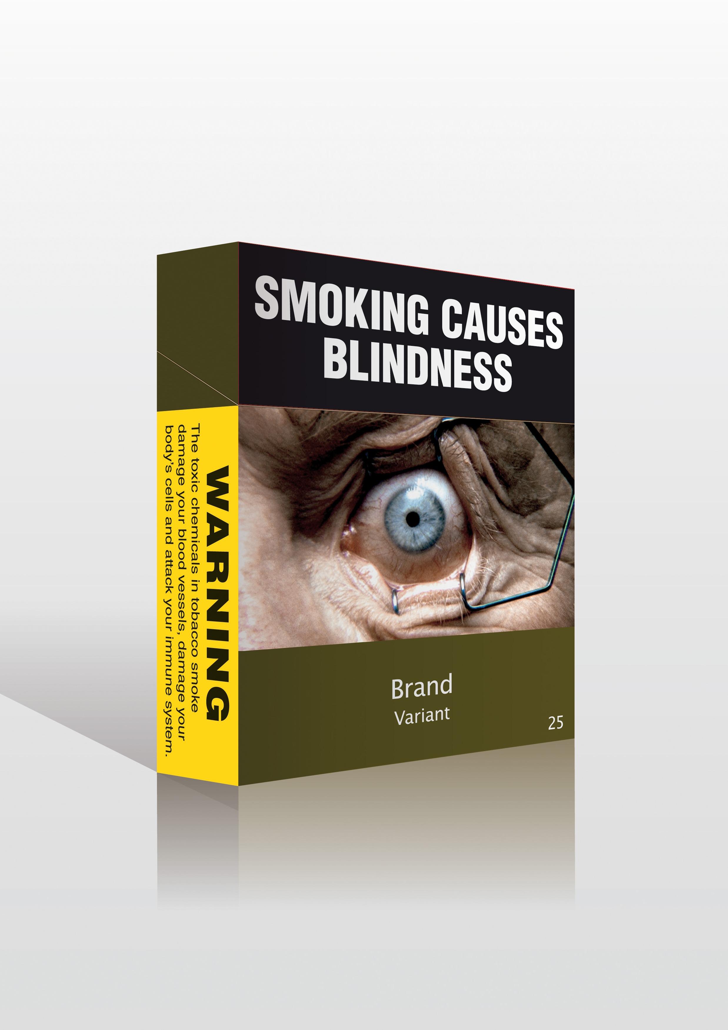 Το κάπνισμα προκαλεί τύφλωση!