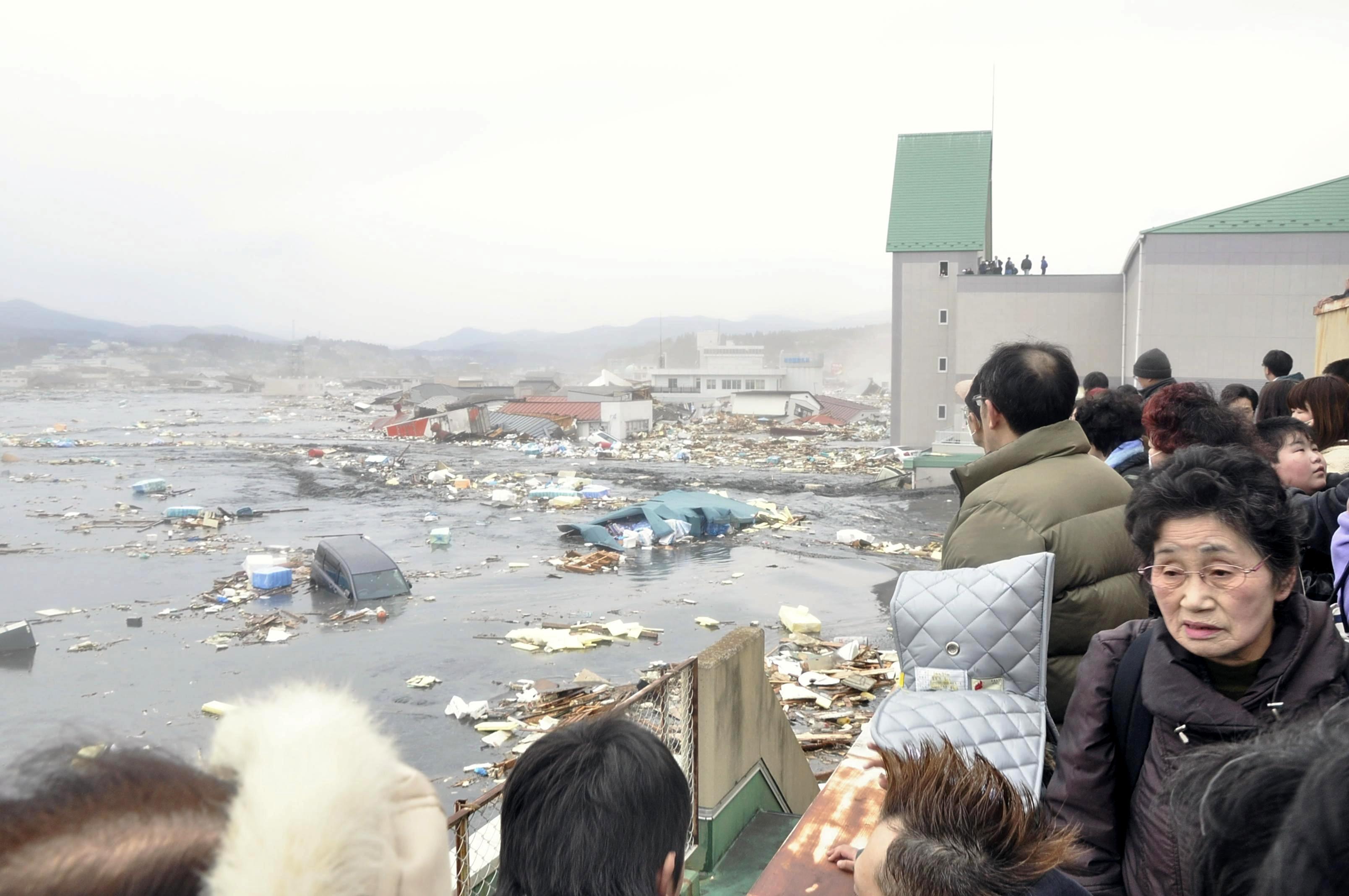 Πως να πιστέψεις τέτοια καταστροφή; - ΦΩΤΟ REUTERS