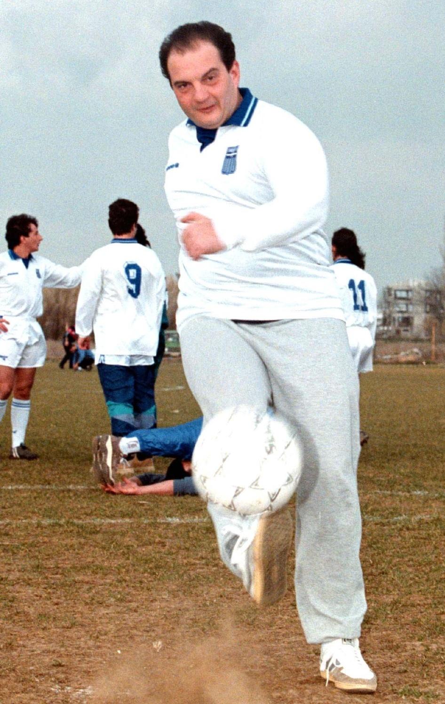 Ολα ξεκίνησαν με χαμόγελα και ποδοσφαιρική δεινότητα...ΦΩΤΟ EUROKINISSI