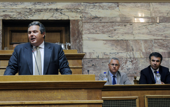 """Η αντίδραση των """"Ανεξάρτητων Ελλήνων"""" στο πρόγραμμα του ΣΥΡΙΖΑ"""