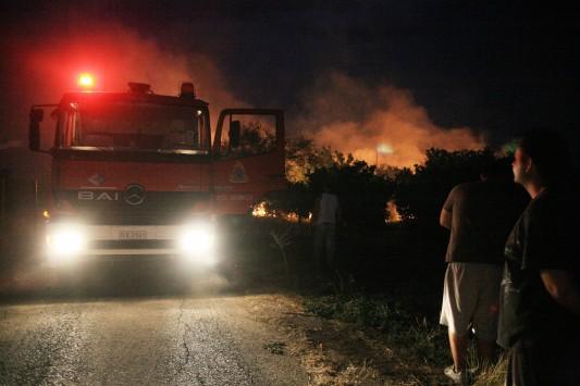 Εφιαλτική νύχτα στην Ουρανούπολη - Ποια πύρινα μέτωπα μαίνονται σε όλη την Ελλάδα