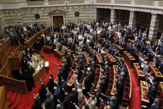 Ο Λαός στην ανεργία και αυτοί διορίζουν συγγενείς και κολλητούς στη βουλή. - Όργιο διορισμών στην Βουλή