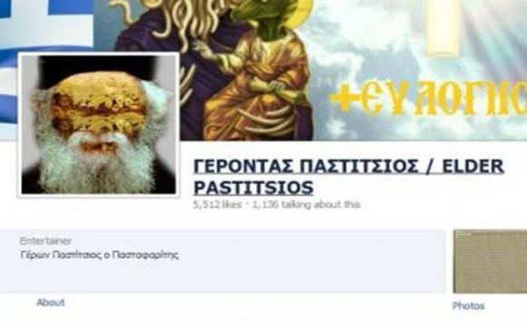 Συνελήφθη γιατί έφτιαξε σελίδα στο Facebook για τον Γέροντα Παστίτσιο - Σάλος στο twitter - Καταγγέλουν λογοκρισία