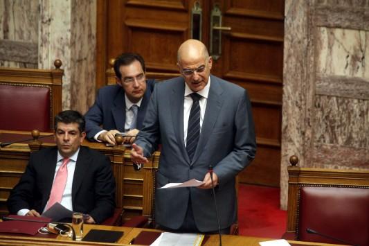 Για αντιποίηση αρχής κατηγορεί τον ΣΥΡΙΖΑ ο Δένδιας.....