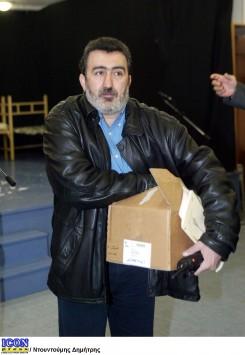 Συνελήφθη ο Αντώνης Αραβαντινός.