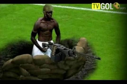 Ποδόσφαιρο και γέλιο - Τα... αστεία του 2012 (VIDEO)