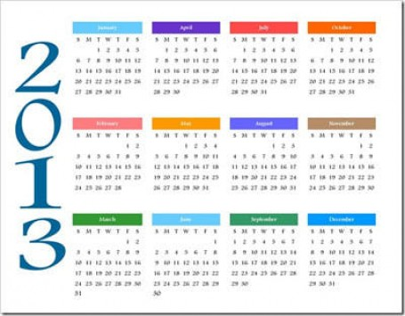 Όλες οι αργίες του 2013! - Πολλά τα τριήμερα!