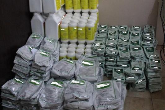 Αλεξανδρούπολη: Μετέφερε με το αυτοκίνητο πάνω από 85 κιλά λαθραίων φυτοφαρμάκων! ΦΩΤΟ