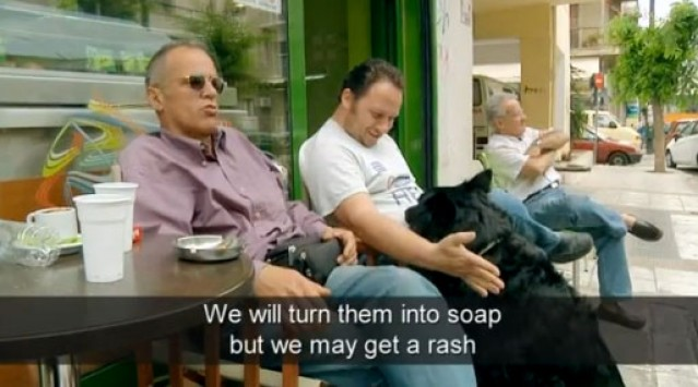 Υποψήφιος βουλευτής της Χρυσής Αυγής εξηγεί πως θα κάνει σαπούνια τους αλλοδαπούς!