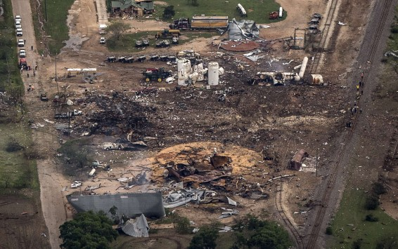 Τέξας: Κρανίου τόπος η περιοχή γύρω από το εργοστάσιο λιπασμάτων - ΑΠΙΣΤΕΥΤΕΣ ΦΩΤΟ
