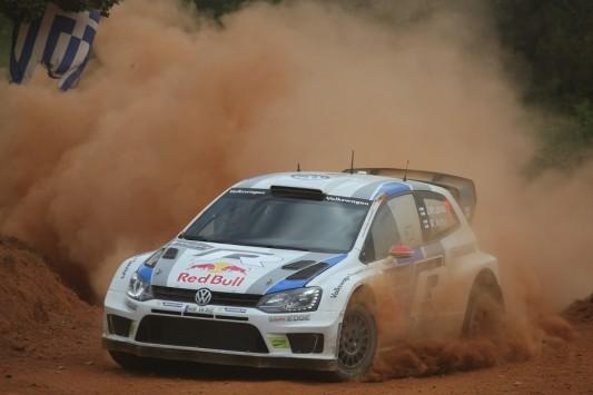 """Ράλλι Ακρόπολις: Πρώτη νίκη για Λάτβαλα και Volkswagen στο ράλλι των """"Θεών"""""""
