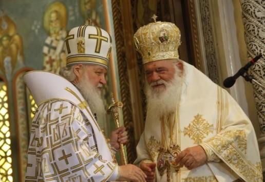 Συλλειτούργησαν στον Αγ. Παντελεήμονα ο Πατριάρχης Ρωσίας κ. Κύριλλος και ο Αρχιεπίσκοπος Ελλάδος κ. Ιερώνυμος.... (φωτορεπορτάζ)
