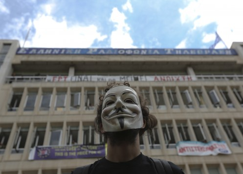 Οι Anonymous «χτύπησαν» τη Βουλή; Συναγερμός από προκήρυξή τους