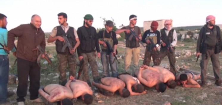 Βίντεο με την εκτέλεση στρατιωτών από τους αντικαθεστωτικούς δολοφόνους τρομοκράτες μουσουλμάνους..