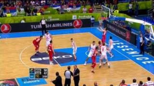 Το πιο έξυπνο καλάθι του Ευρωμπάσκετ ! (video)