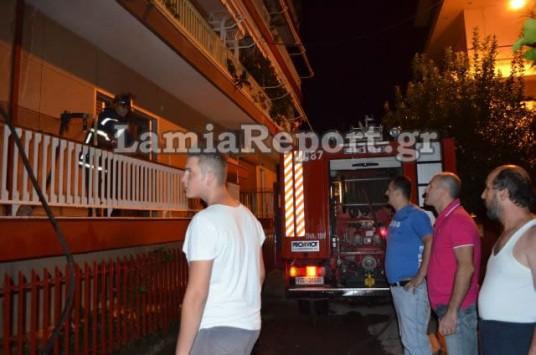 Φρίκη στη Λαμία από φωτιά σε σπίτι την ώρα η μάνα διάβαζε τα 4 παιδιά της....
