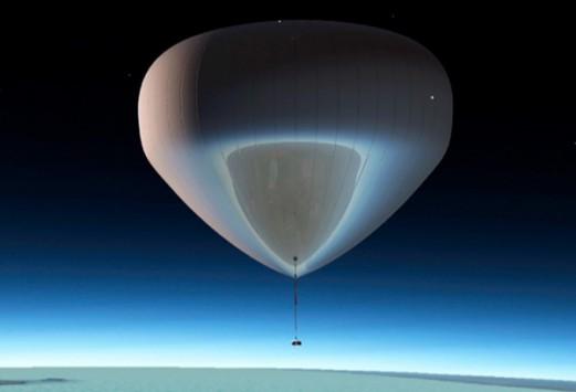 Ταξίδι με αερόστατο στο ...διάστημα για όποιον διαθέτει 55.000 ευρώ!