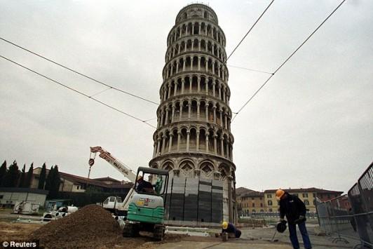 Ο πύργος της Πίζας... ισιώνει!