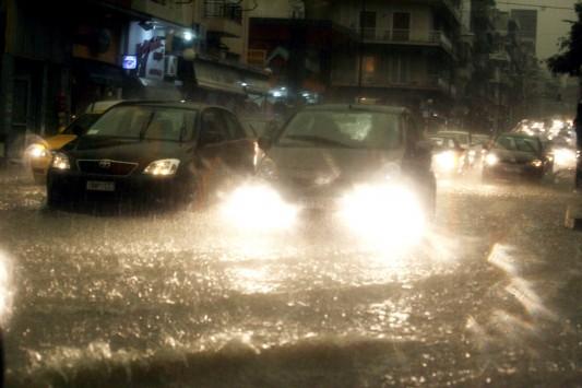 Έρχονται ισχυρές βροχές και καταιγίδες - Έκτακτο δελτίο της ΕΜΥ