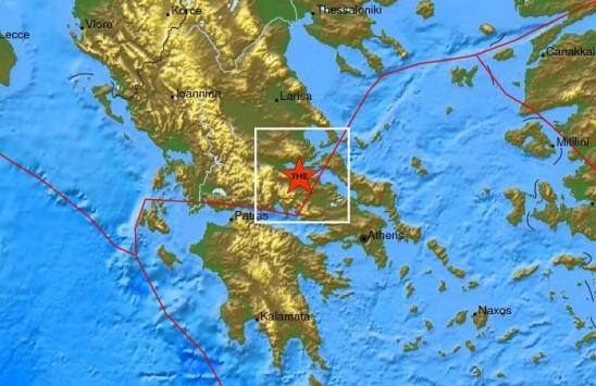 Κουνήθηκε πάλι η Φθιώτιδα - Σεισμός με επίκεντρο κοντά στο Ρεγγίνι