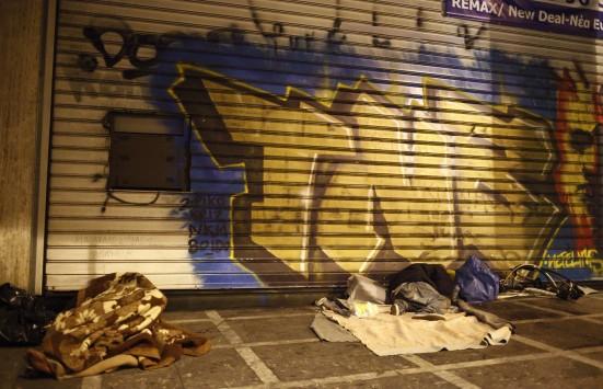 Έκτακτα μέτρα του δήμου Αθηναίων για τους άστεγους - Πώς μπορείτε να βοηθήσετε