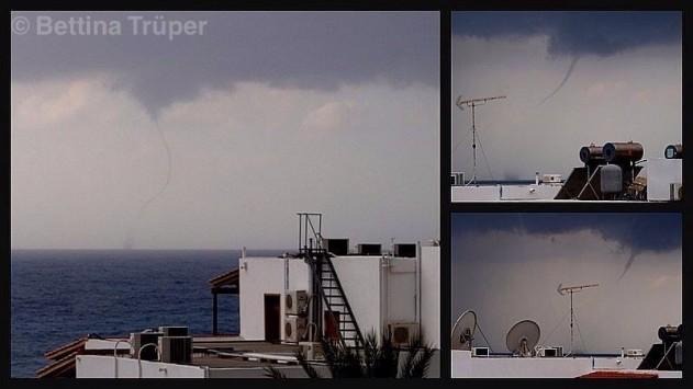 Κρήτη: Υδροστρόβιλος στα Σφακιά - Οι φωτογραφίες του κάνουν τον γύρο των social media!