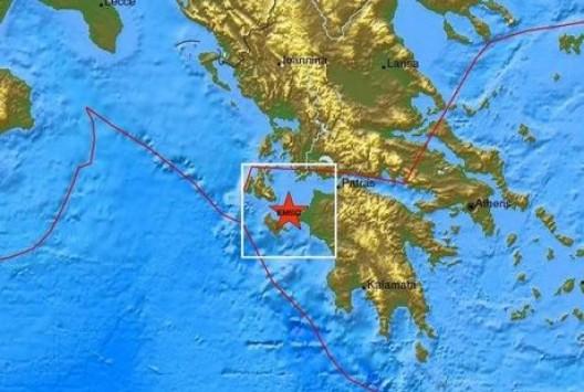 Ισχυρός σεισμός κοντά στη Ζάκυνθο - Κουνήθηκε όλη η Δ. Πελοπόννησος