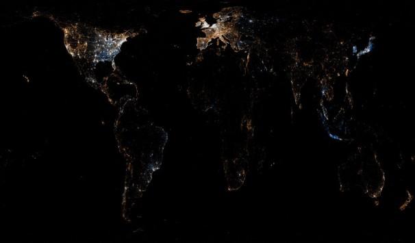 Εντυπωσιακές φωτογραφίες: Αυτός είναι ο... παγκόσμιος χάρτης των social media