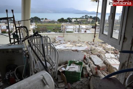 Νέες φωτογραφίες ντοκουμέντο από τις καταστροφές στην Κεφαλονιά - Αγριεύει ο καιρός στο νησί