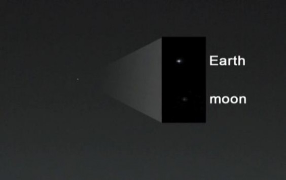Πώς φαίνονται η Γη και η Σελήνη από τον Άρη (BINTEO)