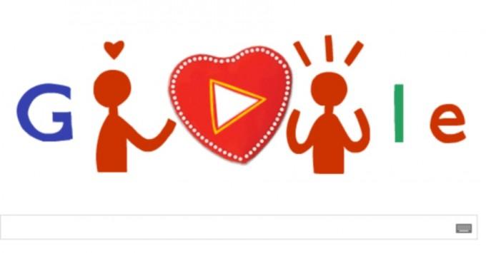 Ημέρα του Αγίου Βαλεντίνου: Χρόνια πολλά από τη Google