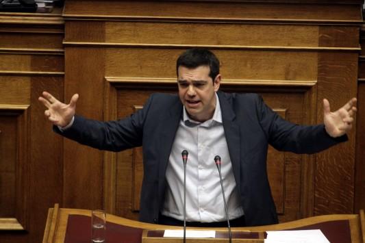 ΣΥΡΙΖΑ: Ο απών Σαμαράς, ο πρωθυπουργεύων Βενιζέλος και το κοινοβουλευτικό πραξικόπημα