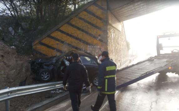 Μακεδονία: Τραγωδία κάτω από γέφυρα με ένα νεκρό και τρεις τραυματίες - Σκοτώθηκε ο νεαρός οδηγός του αυτοκινήτου!