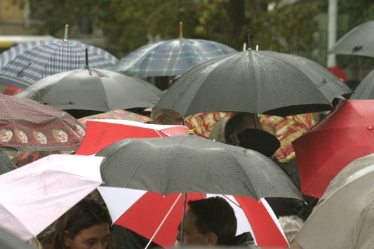 Έρχεται βροχερό Σαββατοκύριακο - Αναλυτική πρόγνωση
