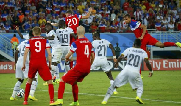 Γκάνα – ΗΠΑ 1-2: Νίκη στο παρά 3' για τα παιδιά του Κλίνσμαν (VIDEO)