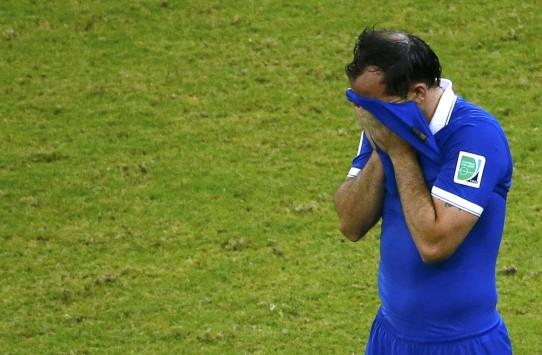Μουντιάλ 2014: Όταν ο Γκέκας ξέσπασε σε κλάματα (ΦΩΤΟ και VIDEO)