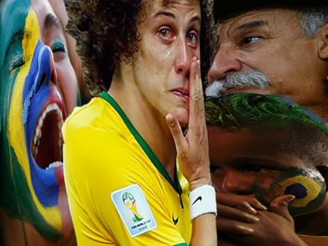 Θλίψη, δάκρυα, οργή για την ταπείνωση της Βραζιλίας – Μια χώρα σε εθνικό `πένθος` για τον αποκλεισμό από το Μουντιάλ – Όλα τα πρόσωπα της τραγωδίας