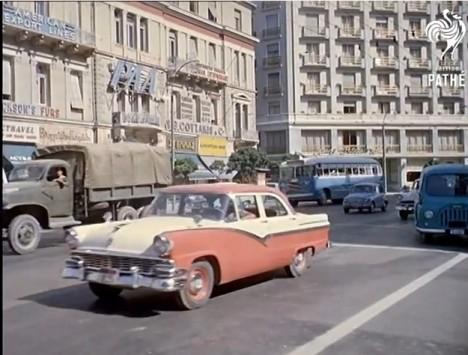 Η μαγευτική Αθήνα του 1961 σε ένα συγκλονιστικό video