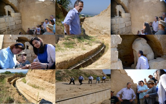 Η πρώτη `ματιά` μέσα στον αρχαίο τάφο - Τι έκανε ο Σαμαράς στην Αμφίπολη το 2009; Τα μυστικά που κρύβει ο μεγαλοπρεπής τύμβος