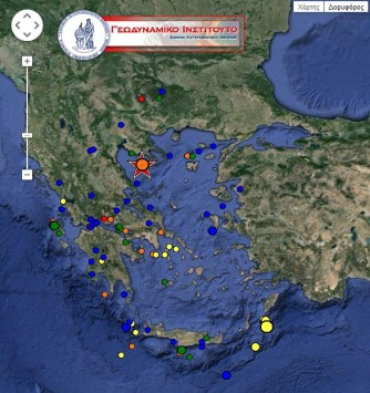 Κάθε 5 λεπτά και ένας σεισμός στη Χαλκιδική – Παρακλάδι του ρήγματος της Ανατολίας έδωσε τις δονήσεις