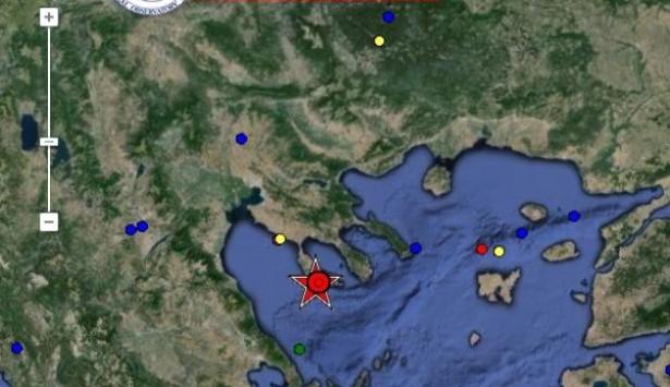 5,1 Ρίχτερ ο σεισμός στη Χαλκιδική - Κουνήθηκε ολόκληρη η περιοχή